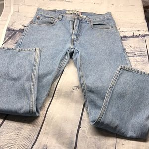 Levi's 505 jeans 32x29 blue regular fit EUC